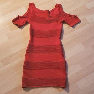 Spring/Summer fuchsia red dress